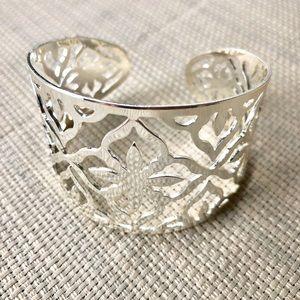 Jewelry - Silver Filigree Cuff Bracelet